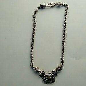 Brighton braided chain necklace